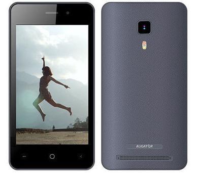 Mobilní telefon Aligator S4080 Duo šedý