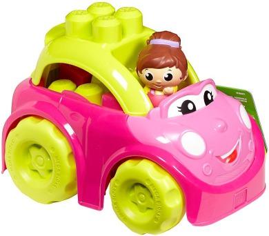 Mega - Růžový kabriolet + DOPRAVA ZDARMA
