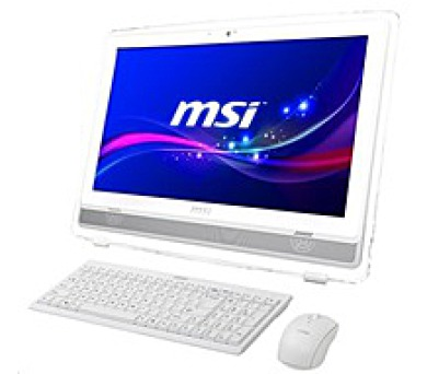 MSI PC AiO WIND TOP AE222-274EU white