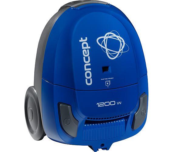 Concept VP8032 Sáčkový vysavač modrý 1200 W