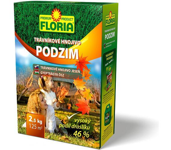 Agro Floria podzimní trávníkové hnojivo 2.5kg
