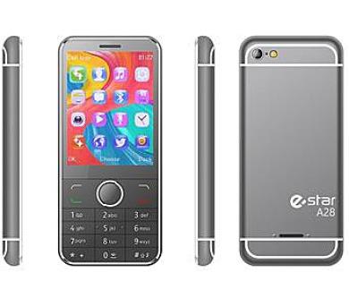 eSTAR A28 2017 DS gsm tel. Silver