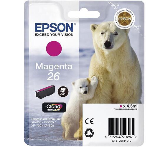 Epson Singlepack Magenta 26 Claria Premium Ink