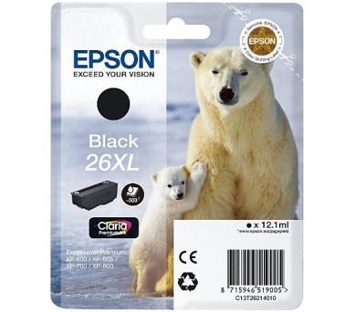 Epson Singlepack Black 26XL Claria Premium Ink