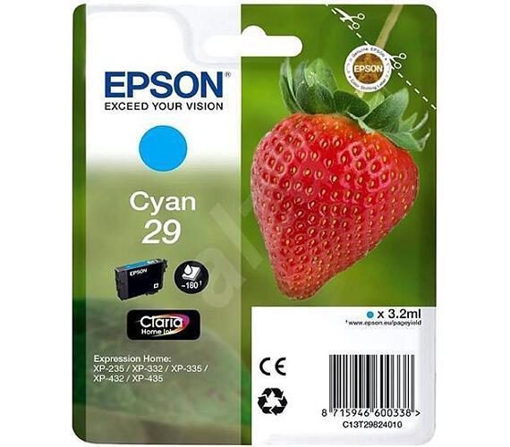 Epson Singlepack Cyan 29 Claria Home Ink (C13T29824012)