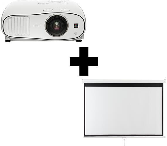 Epson EH-TW6700W Full HD 3000 Ansi 70000:1 + plátno Aveli 200 x 125 (V11H829040)