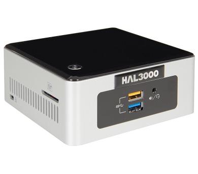 HAL3000 NUC Kit Celeron/ Intel Celeron N3050/ 4GB/ SSD 120GB/ WiFi/ CR/ bez OS + DOPRAVA ZDARMA