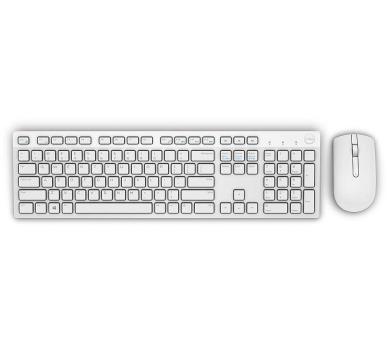 DELL KM636 bezdrátová klávesnice a myš/ US/ International/ bílá