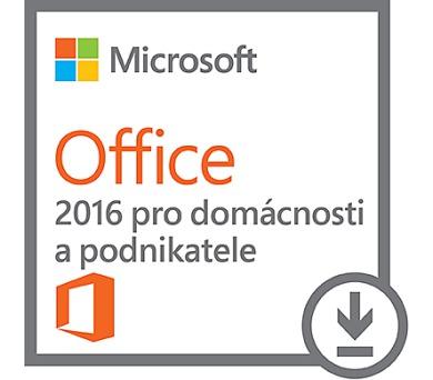 DELL Microsoft Office 2016 pro domácnosti a podnikatele/ Home & Business/ 2016/ pouze pro HW DELL