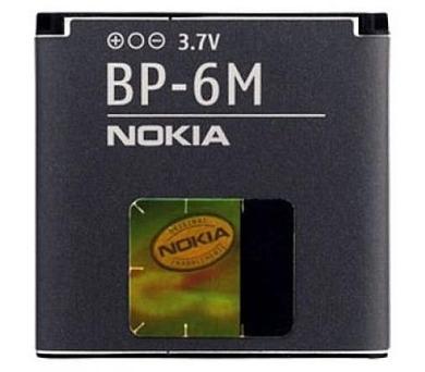Nokia BP-6M Li-Pol 1100 mAh - šedá