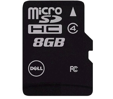 DELL MicroSDHC karta 8GB Class 4 s adaptérem