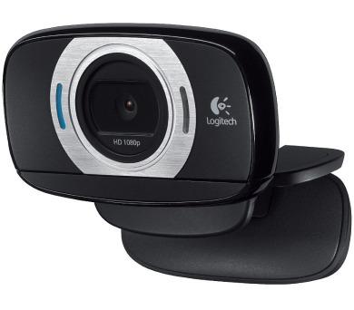 LOGITECH HD webkamera C615/ 1920x1080/ USB/ mikrofon/ černá