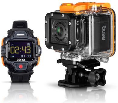 BENQ outdoor kamera QC1/ LTE/ 13MPix CMOS/ FULL HD/ Černá/ hodinky v balení (9H.G25AA.D01)