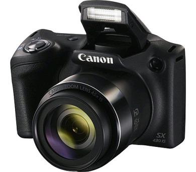 Canon PowerShot SX430 IS black + DOPRAVA ZDARMA