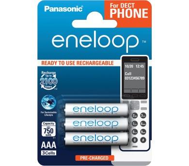 Panasonic HR03 AAA 4MCCE/3BE ENELOOP DECT