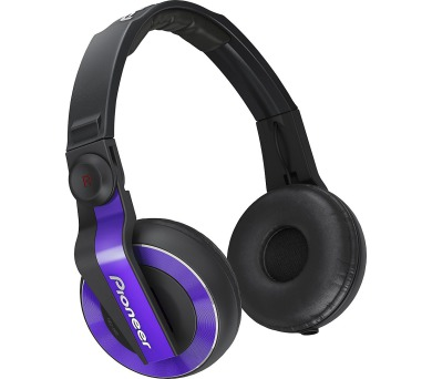 Pioneer DJ sluchátka fialová