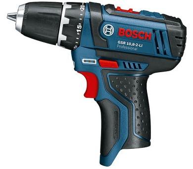 Bosch GSR 10,8-2-LI Professional + DOPRAVA ZDARMA