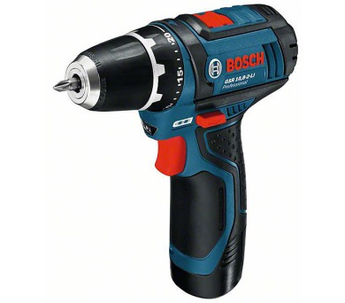 Bosch GSR 12-15 Professional - 2x AKU 2,0Ah + DOPRAVA ZDARMA
