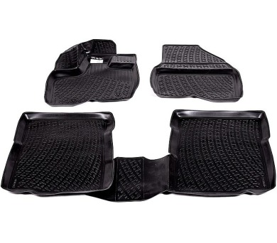 Gumové koberce Opel Zafira C (P12) (třetí řada sedadel) (11-) (3D) SIXTOL + DOPRAVA ZDARMA