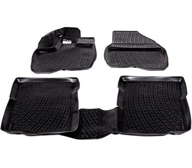 Gumové koberce Audi Q7 (4M) (15-) (3D) SIXTOL + DOPRAVA ZDARMA