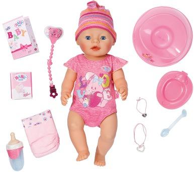 Interaktivní BABY born holčička + DOPRAVA ZDARMA