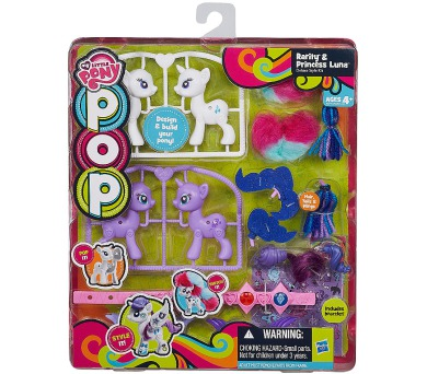 My Little Pony Pop deluxe 2 poníci s doplňky + DOPRAVA ZDARMA