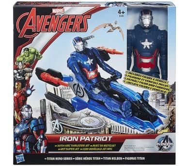 Avengers akční figurka s novými vozy + DOPRAVA ZDARMA