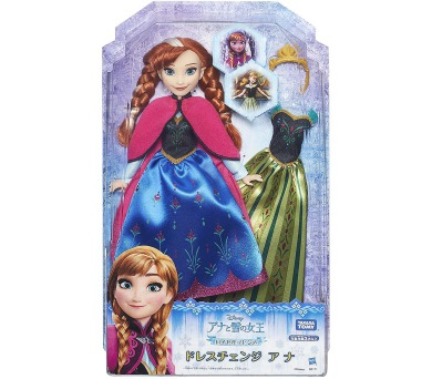 Disney's Frozen panenka s náhradními šaty Anna (SOLID) + DOPRAVA ZDARMA