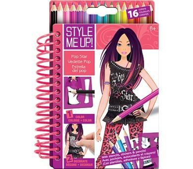 Style me up: Návrhářské portfolio s pastelkami + DOPRAVA ZDARMA