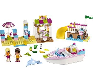 LEGO Friends Juniors 10747 Andrea a Stephanie na dovolené na pláži
