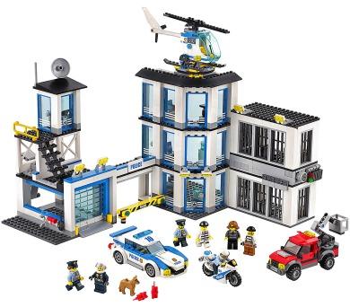 LEGO City 60141 Policejní stanice + DOPRAVA ZDARMA