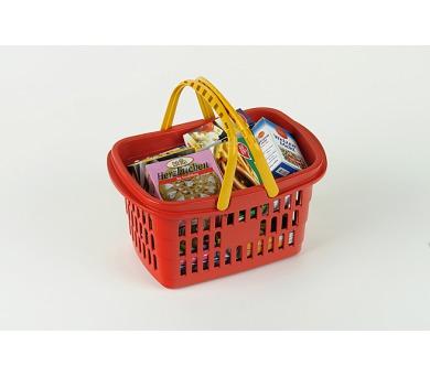 Nákupní košík s maketami potravin + DOPRAVA ZDARMA