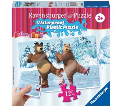 Máša a Medvěd 12 plastových dílků III