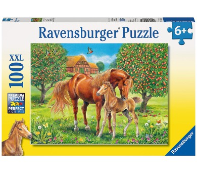 Ravensburger Koně na pastvině 100 XXL dílků