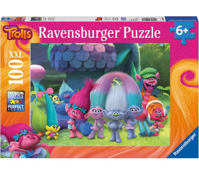 Ravensburger puzzle Trollové II. 100 dílků