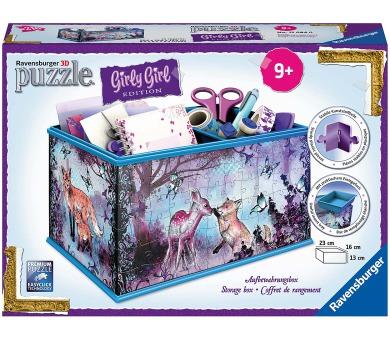 Ravensburger puzzle Úložná krabice zvířecí trend 216 dílků + DOPRAVA ZDARMA