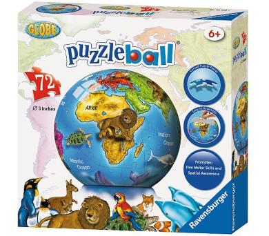 Ravensburger puzzle ball Globus 72 dílků
