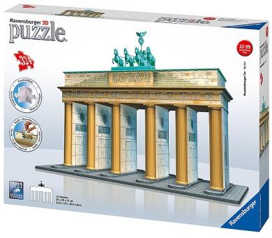 Ravensburger 3D puzzle Brandenburská brána 324 dílků + DOPRAVA ZDARMA