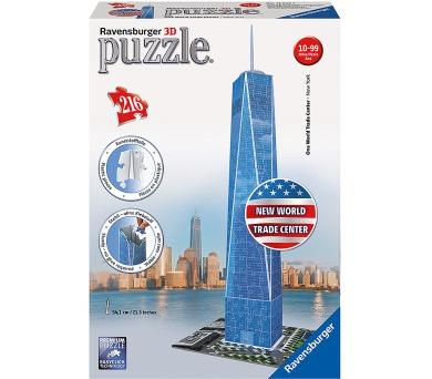 Ravensburger 3D puzzle New World Trade Center 216 dílků + DOPRAVA ZDARMA