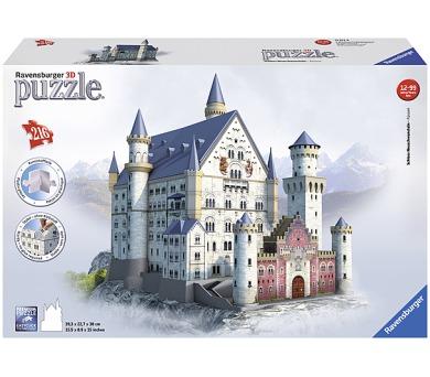 Ravensburger 3D puzzle Neuschwanstein 216 dílků + DOPRAVA ZDARMA