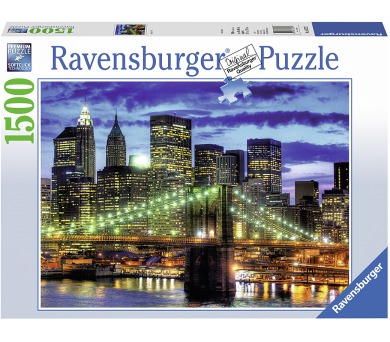 Ravensburger puzzle Mrakodrapy New York City 1500 dílků + DOPRAVA ZDARMA