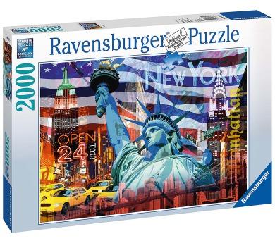 Ravensburger New York koláž 2000 dílků + DOPRAVA ZDARMA