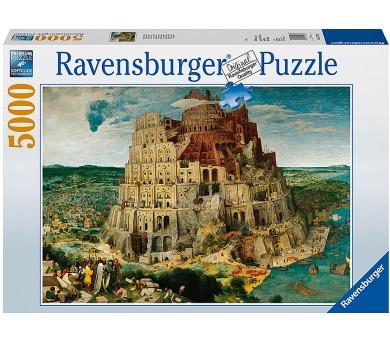 Ravensburger puzzle Babylonská věž 5000 dílků + DOPRAVA ZDARMA