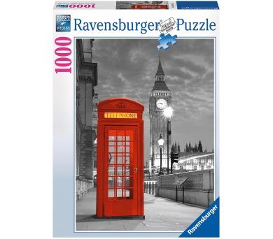 Ravensburger Londýn Big Ben 1000 dílků + DOPRAVA ZDARMA