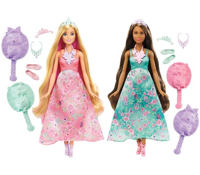 Barbie KOUZELNÉ BAREVNÉ VLASY + DOPRAVA ZDARMA