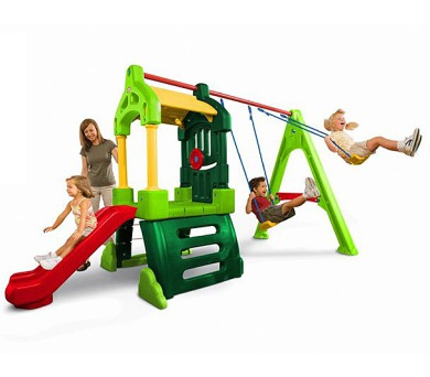 Clubhouse Swing Set Natural + DOPRAVA ZDARMA