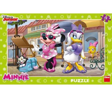 Dino puzzle Walt Disney Minnie na Monmartu 15 dílků
