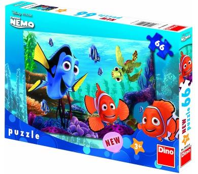 Dino puzzle Walt Disney Nemo 66 dílků