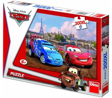 Dino puzzle Walt Disney Cars v Paříži 300 dílků XL