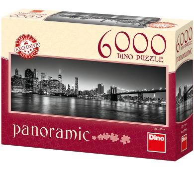 Dino puzzle Noční Brooklyn 6000 dílků